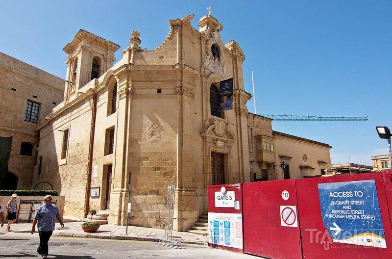 Церковь Богородицы Победоносной, Валлетта / Фото с Мальты