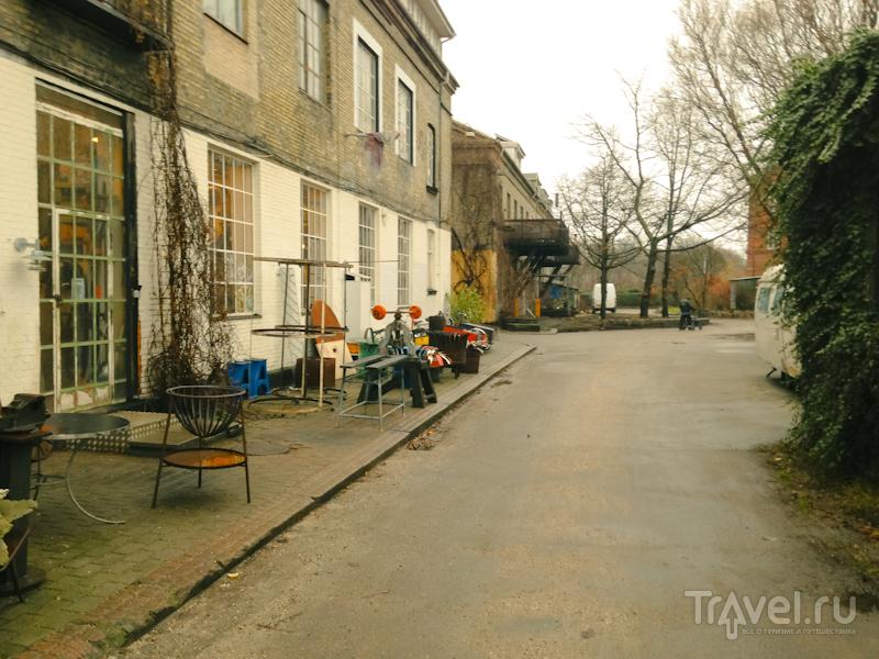 Свободный город Христиания в Копенгагене / Дания