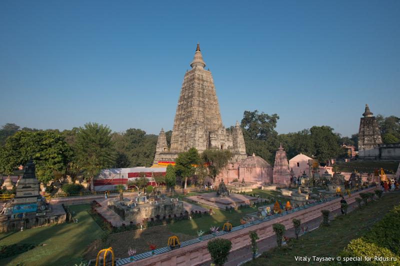 Храм Махабодхи / Фото из Индии