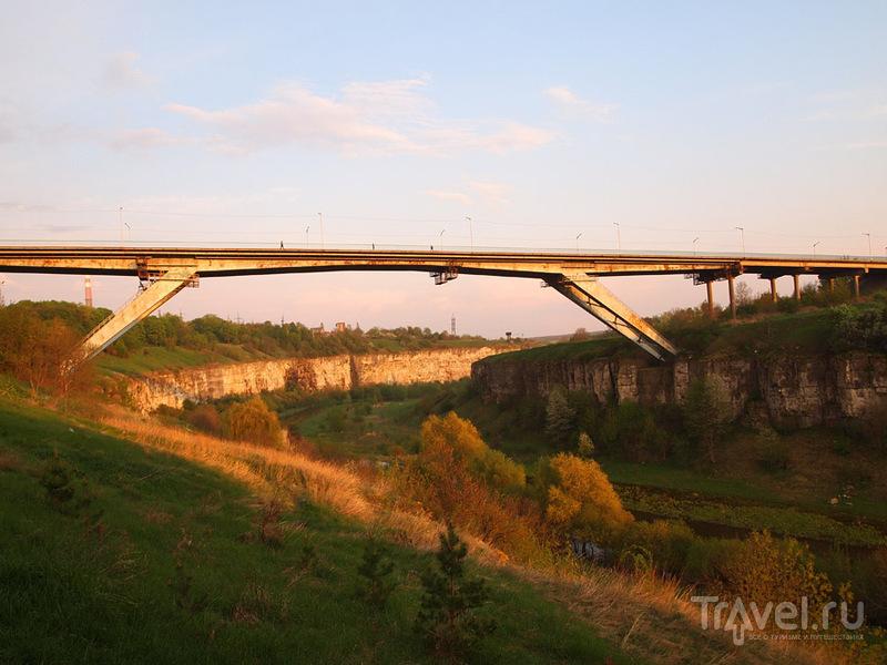 Мост Бегущая Лань, Каменец-Подольский / Фото с Украины