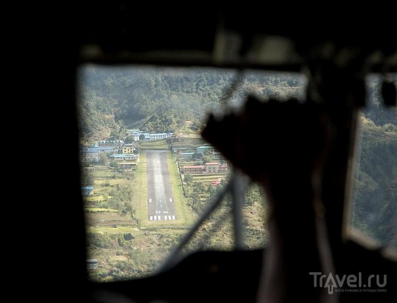 Приземление в Лукле / Фото из Непала