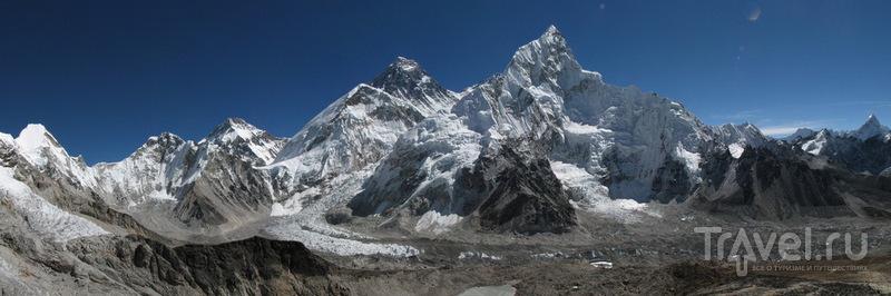 Панорама с вершины Кала-Паттар / Фото из Непала