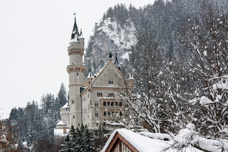 Фюссен в декабре / Германия