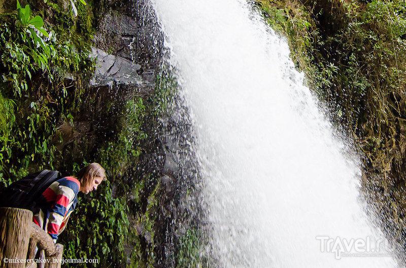 Вулкан Поас / Фото из Коста-Рики