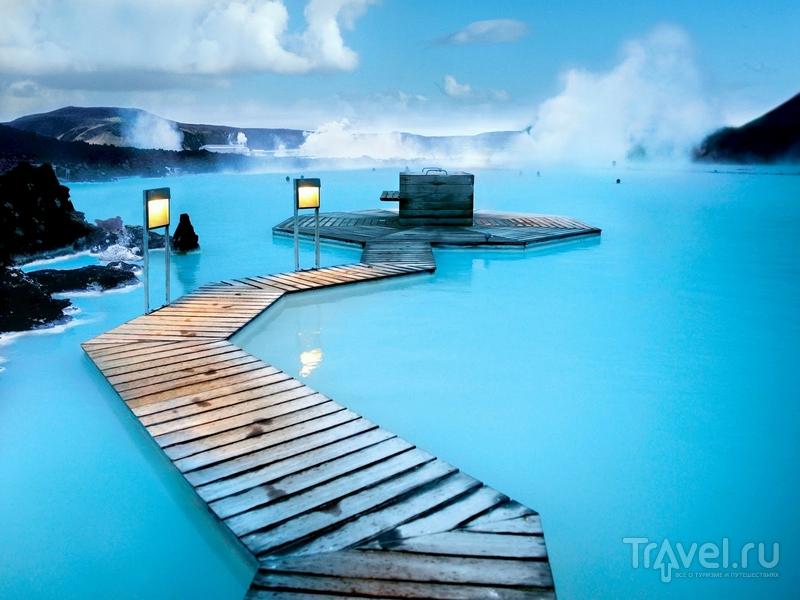 Лечебные и оздоравливающие свойства геотермального комплекса известны с 1976 года, Исландия / Исландия