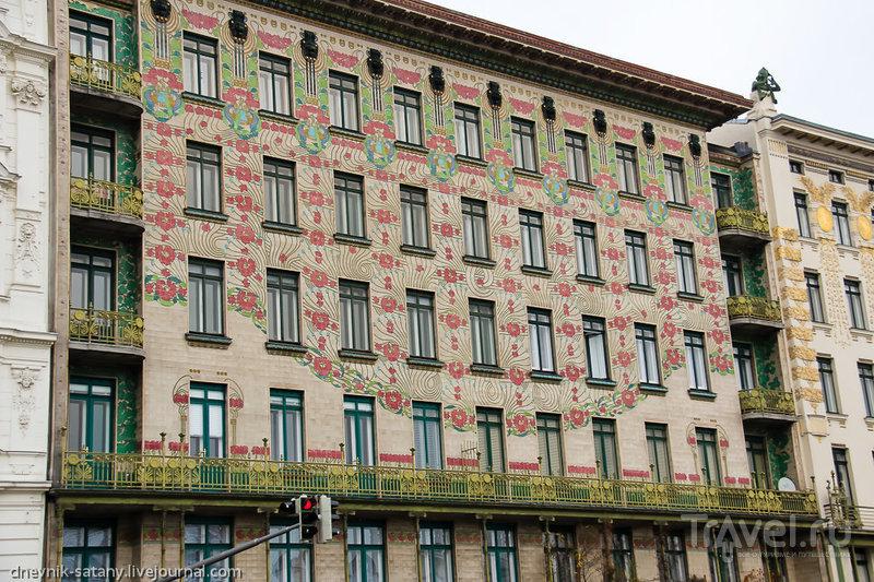 Майоликовый дом Отто Вагнера, Вена / Фото из Австрии