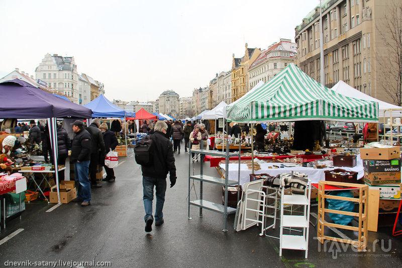 Рынок Нашмаркт (Naschmarkt), Вена / Фото из Австрии