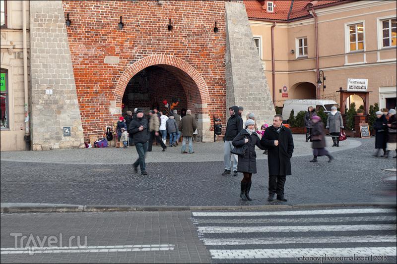 Краковские ворота в Люблине / Фото из Польши