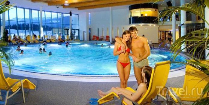 Кронплатц: поплавать и попариться