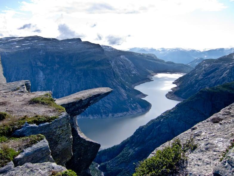 Горы Скьеггедаль / Фото из Норвегии