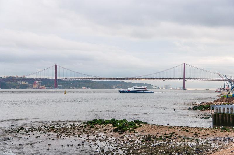 Река Тежу в Лиссабоне / Фото из Португалии