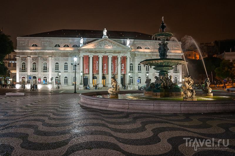 Национальный Театр в Лиссабоне / Фото из Португалии