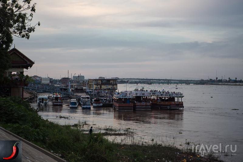 Река Мекон, Камбоджа / Фото из Камбоджи