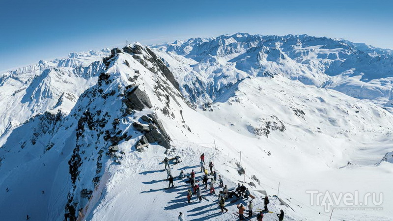 Андерматт: крутая гора Гемсшток