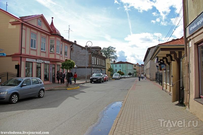 Улица Pils iela в Тукумсе / Фото из Латвии