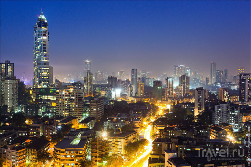 Башни Империал в районе Мумбаи-Сентрал в Мумбаи / Фото из Индии