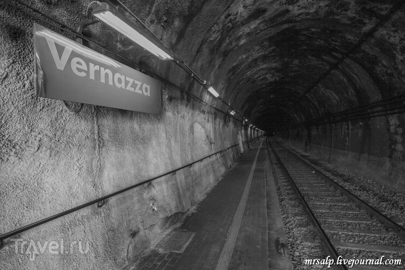 Станция Вернацца / Фото из Италии