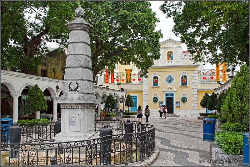 Церковь Франциска Ксаверия в Макао / Фото из Макао
