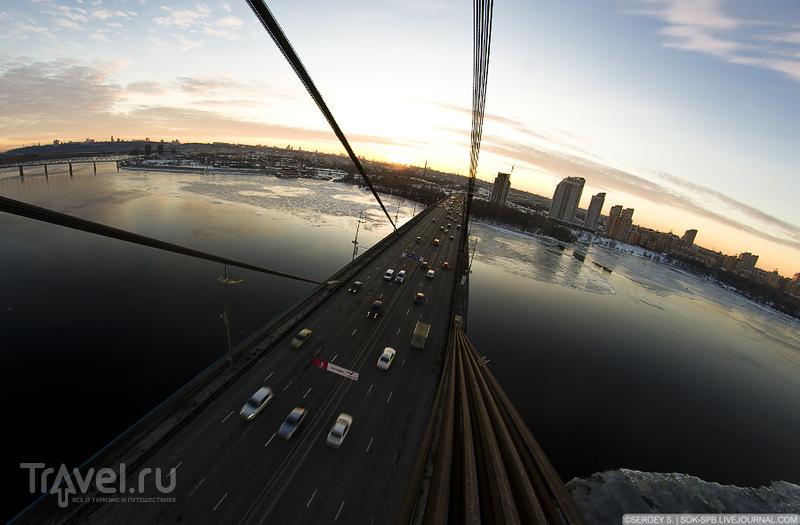 Московский мост в Киеве / Фото с Украины