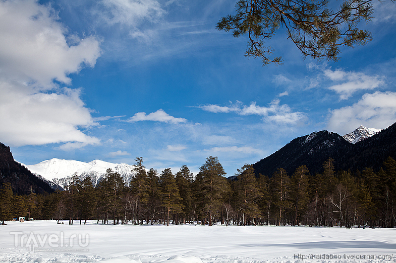 Архыз горнолыжный / Фото из России
