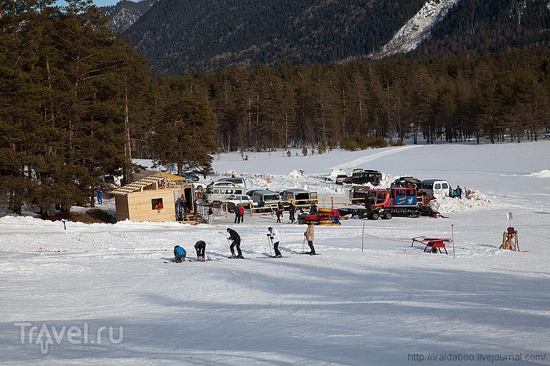 На горнолыжном курорте Фестивальная поляна / Фото из России