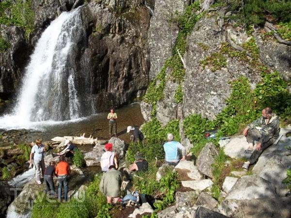 Муехтинский водопад, Алтай / Фото из России