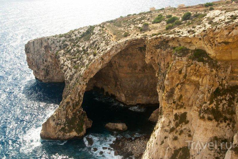 Голубой грот, Мальта / Фото с Мальты