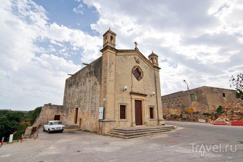 Церквушка Св. Матфея в Зуррике, Мальта / Фото с Мальты