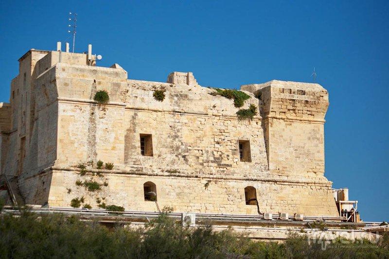 Форт Св. Луциана, Мальта / Фото с Мальты