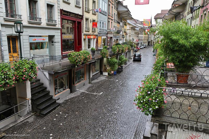 Тун и Тунский замок / Фото из Швейцарии
