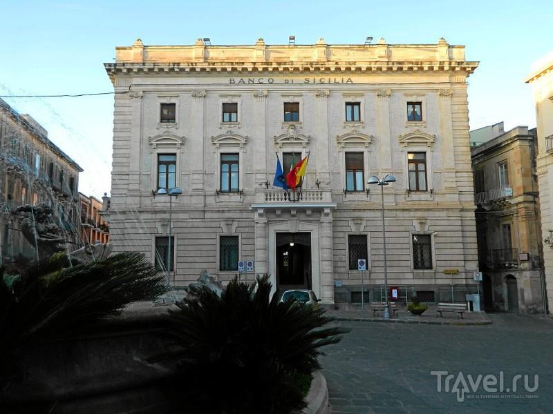 Площадь Archimede, Сиракузы / Фото из Италии