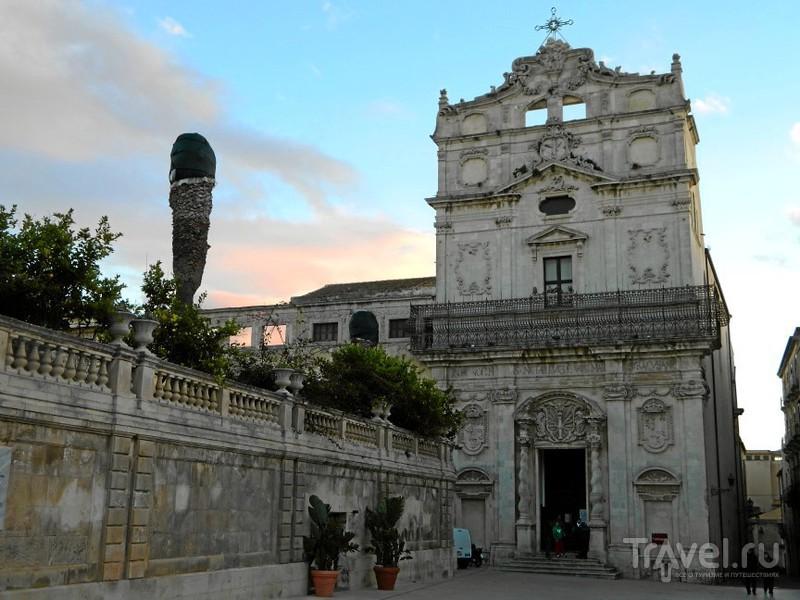Церковь Chiesa di Santa Lucia alla Badia, Сиракузы / Фото из Италии