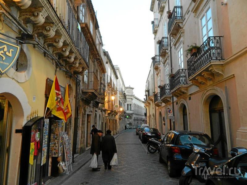Улица via Roma, Сиракузы / Фото из Италии