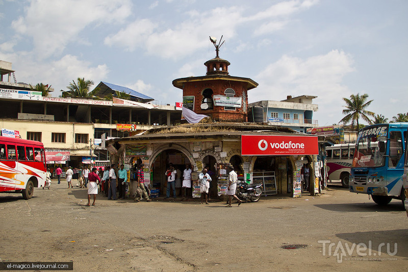 Дорога из Варкалы до Муннара - столицы чайных плантаций Южной Индии / Фото из Индии