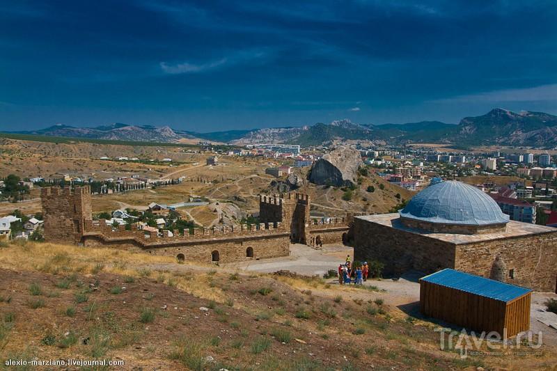 Генуэзская крепость в Судаке, Украина / Фото с Украины
