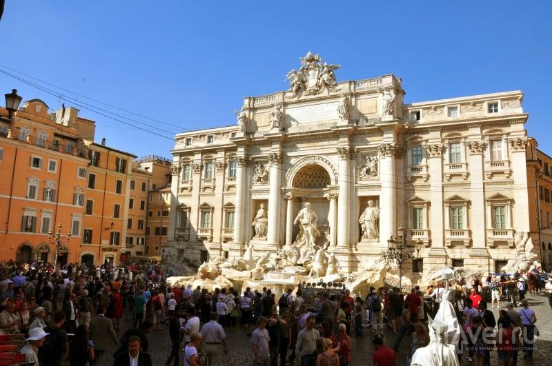 Фонтан Треви в Риме / Фото из Италии
