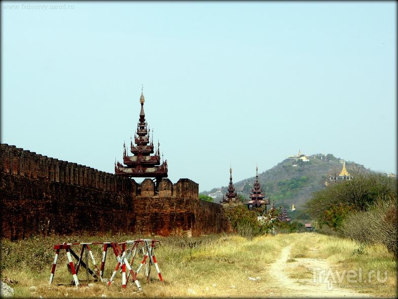 Королевский дворец в Мандалае / Фото из Мьянмы