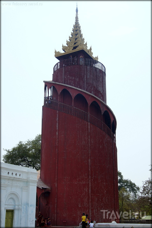 Мандалай. Королевский дворец / Фото из Мьянмы