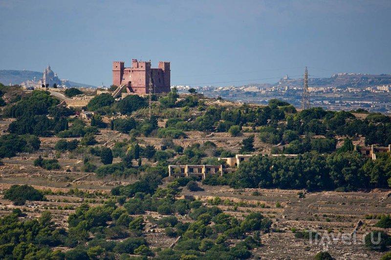 Красная башня или башня Святой Агаты, Мальта / Фото с Мальты