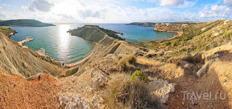 Туффиха-Бей, Мальта / Фото с Мальты