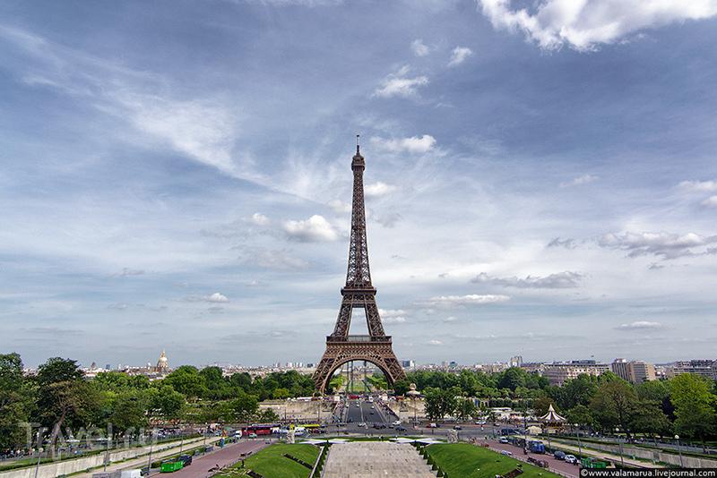 Эйфелева башня, Париж / Фото из Франции
