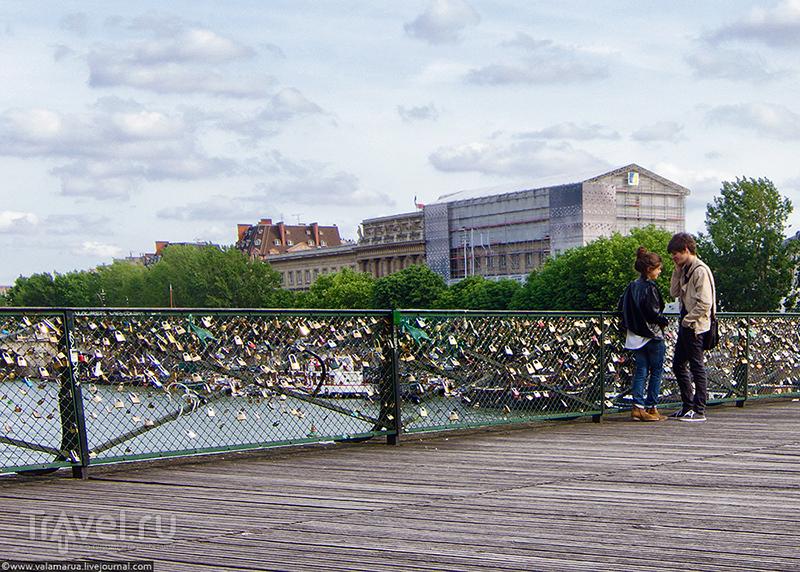 Мост Искусств (Pont des Arts), Париж / Фото из Франции