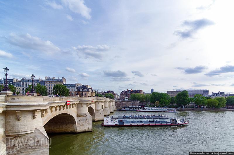 Пон-Нёф, Париж / Фото из Франции