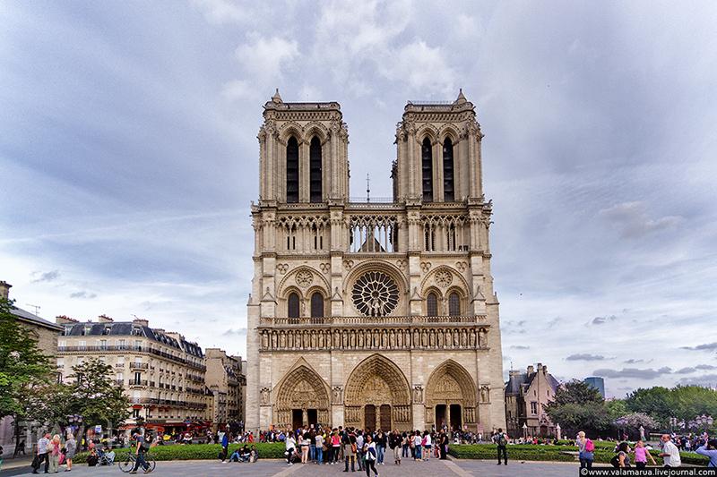Собор Парижской Богоматери (Нотр-Дам-де-Пари; фр. Notre Dame de Paris) / Фото из Франции