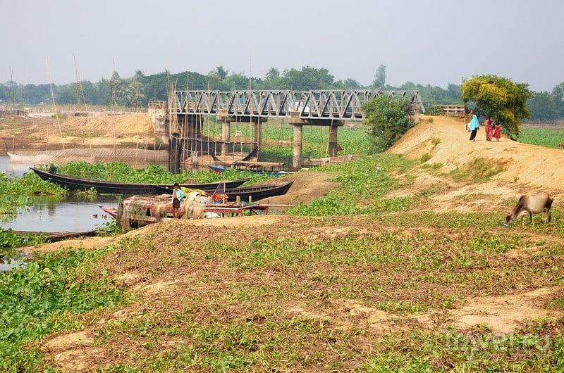 Мост через реку Квай / Фото из Бангладеш