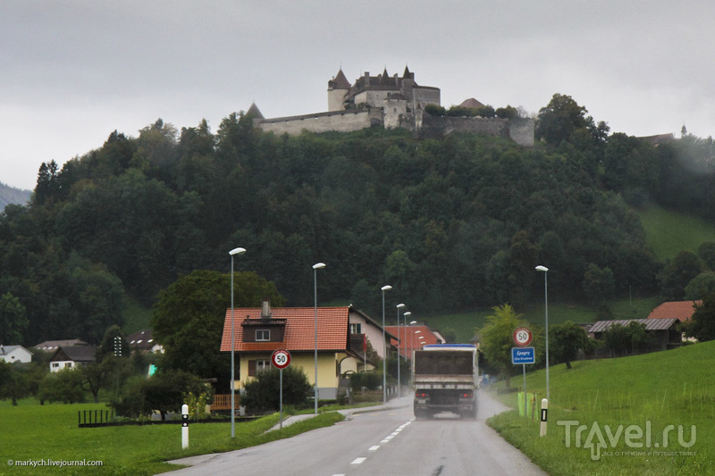 Грюйер - сырная столица Швейцарии / Швейцария