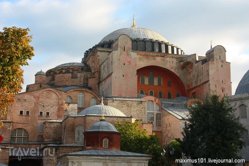 Храм Софии Премудрости Божьей в Стамбуле / Фото из Турции