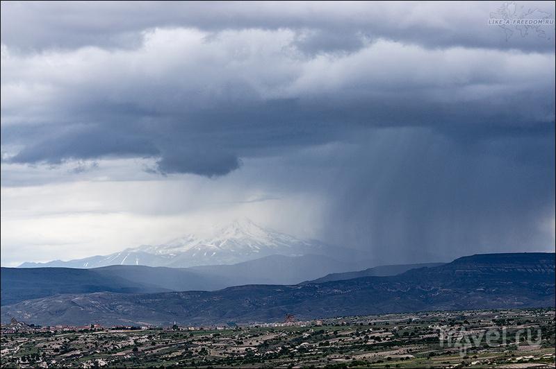 Вулкан Эрджиес, Турция / Фото из Турции