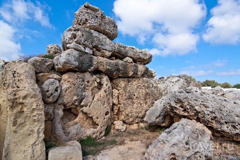 Мегалитический храм Джигантия, Мальта / Фото с Мальты