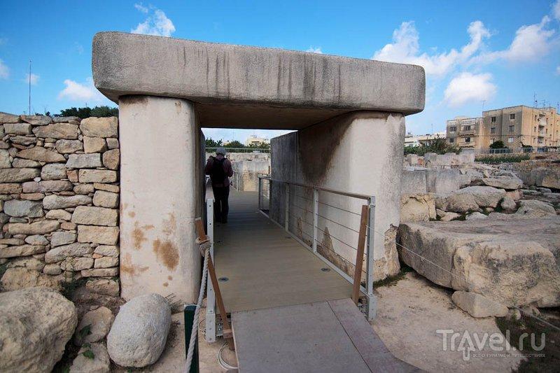 Мегалитический храм Таршин, Мальта / Фото с Мальты